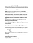 ANT 1101 Lecture Notes - Medical Anthropology, Medicalization, Biological Pathway