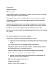 SOCA01H3 Lecture Notes - Meritocracy, Social Inequality, Class Conflict