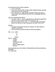 BIOL 121 Lecture Notes - Dna Replication, Pyrimidine, Purine