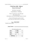 CS246 Study Guide - Midterm Guide: Memory Leak, Dynamic Dispatch, Object Model