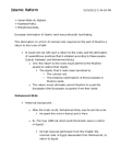 HIST 151 Lecture Notes - Mohammed Abdu, Sharia, Al-Azhar University