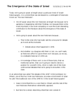 HIST 151 Lecture Notes - Avi Shlaim, Palestinian Refugees, Body Politic