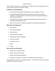 PSYC36H3 Lecture Notes - Cognitive Behavioral Therapy, Dream Interpretation, Interpersonal Relationship