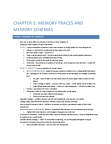PSYC 213 Chapter Notes - Chapter 5: Wax Tablet, Wax Paper, Long-Term Memory