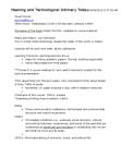 CMNS 210 Lecture Notes - Stanley Aronowitz, Kony 2012, Raymond Williams