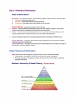 BUS 272 Chapter Notes - Chapter 4: Clayton Alderfer, Victor Vroom, Abraham Maslow
