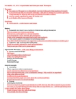 PSYC36H3 Study Guide - Unconditional Positive Regard, Existential Therapy, Gestalt Therapy
