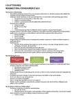 Management and Organizational Studies 1021A/B Study Guide - Consumer Behaviour, Corporate Social Responsibility, Monopolistic Competition