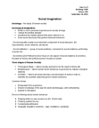 SOCIOL 1A06 Lecture Notes - Extrapolation, Social Inequality, Human Behaviour