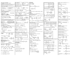 MECH 230 Lecture Notes - Volumetric Flow Rate, Isentropic Process, Mass Flow Rate
