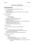 HLTB21H3 Chapter Notes -Measles Vaccine, Paramyxoviridae, Rhinitis