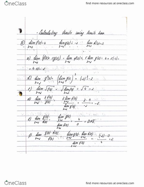 All Educational Materials for Matthieu Arfeux - OneClass