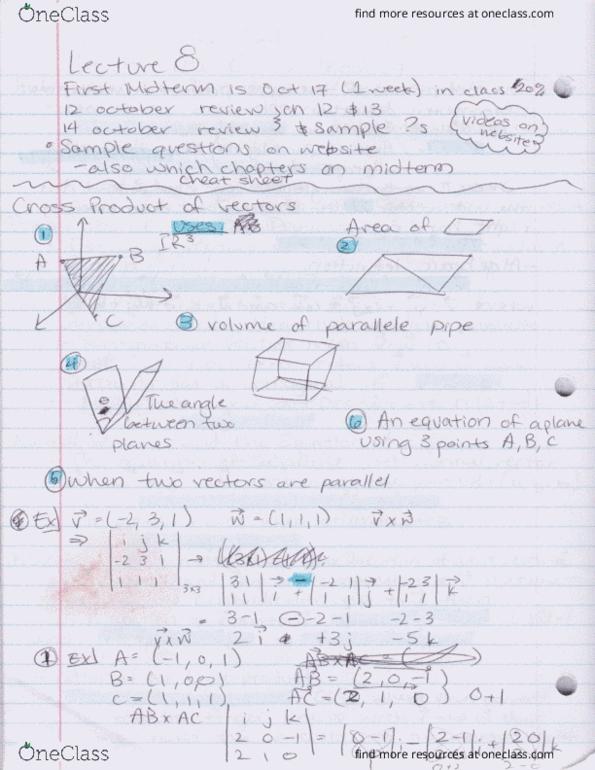 Math 10c ucsd midterm 2