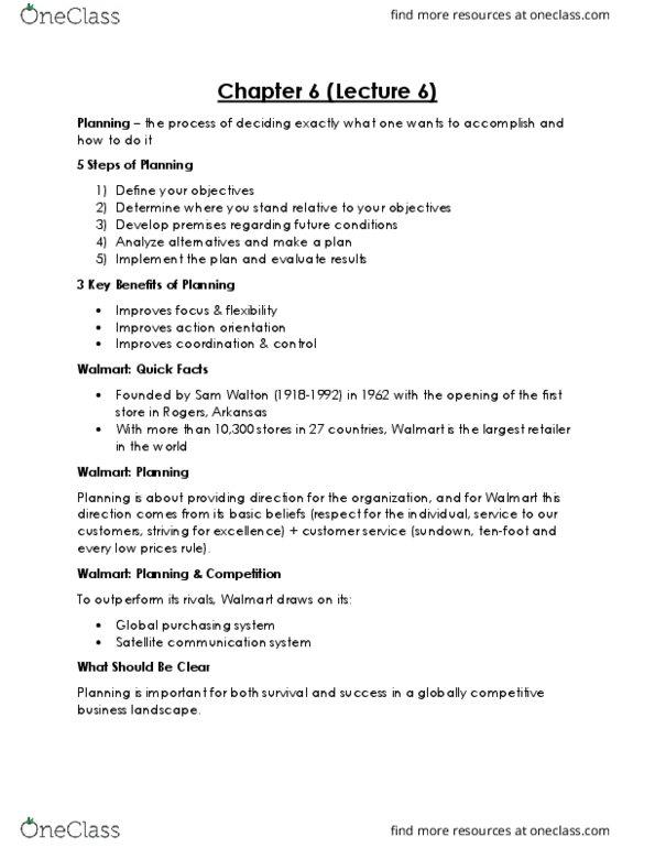 GMS 200 Lecture Notes - Lecture 2: Chris Argyris, Hawthorne Effect,  Scientific Management