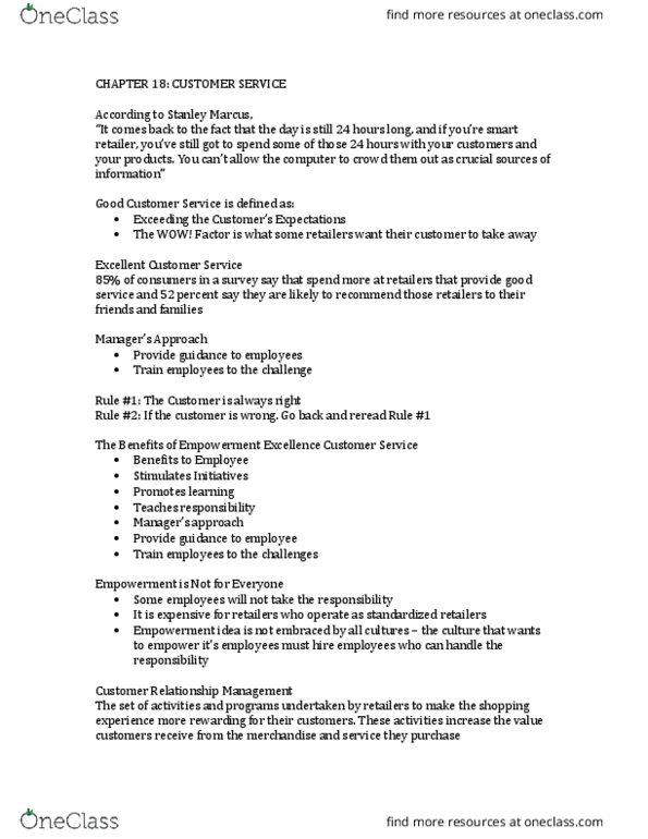 FM 262 Lecture Notes - Lecture 18: Ikea, Dollar General, Walmart