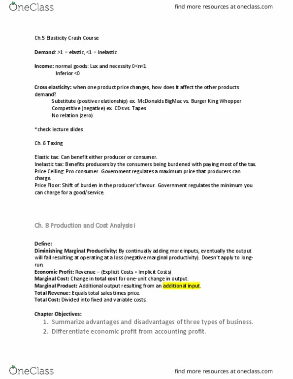 [mkt100] - Final Exam Guide - Everything you need to know! (33 pages long)