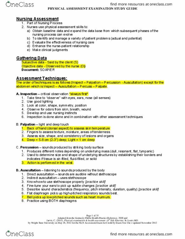NUR1 239 Study Guide - Final Guide: Body Mass Index, Pediatric Nursing,  Axillary Lymph Nodes