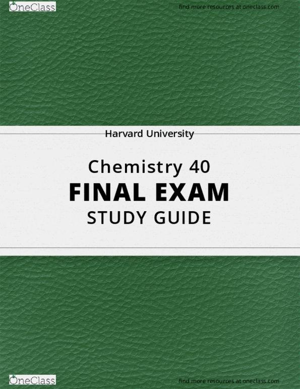 All Educational Materials at Harvard University - OneClass