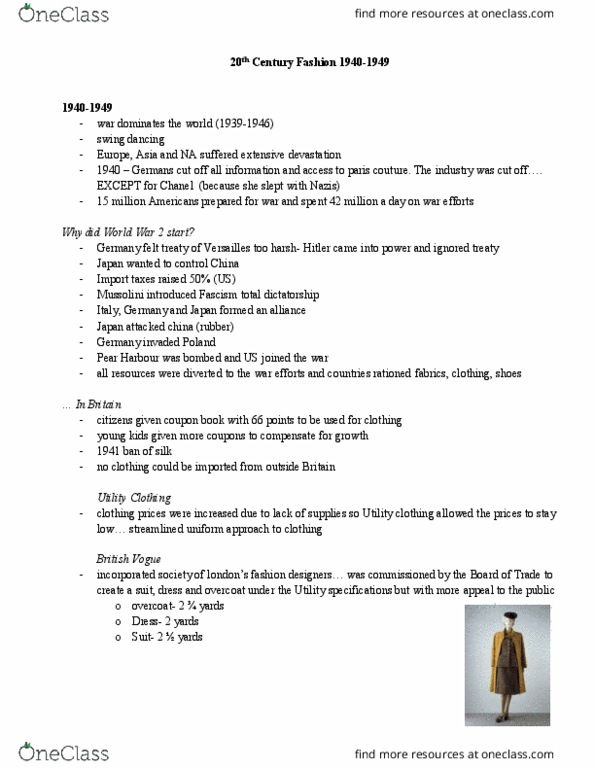 Fas 301 Lecture Notes Fall 2016 Lecture 5 Diana Vreeland Bodice Windsor Knot