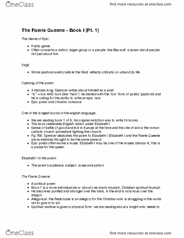 ENGL 2300 Lecture Notes - Fall 2016, Lecture 27 - Simile