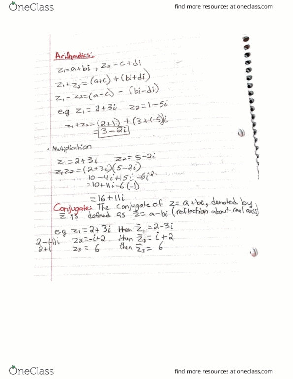 MATH 1203 Lecture Notes - Lecture 1: Dioscorea Alata
