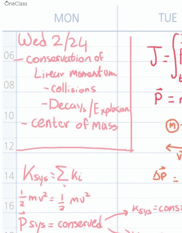 Class Notes for Physics at Northeastern University (NU