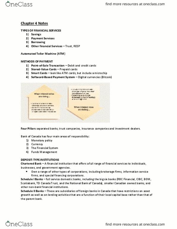 BUSI 3430U Textbook Notes - Winter 2017, Chapter 4 - Quicken