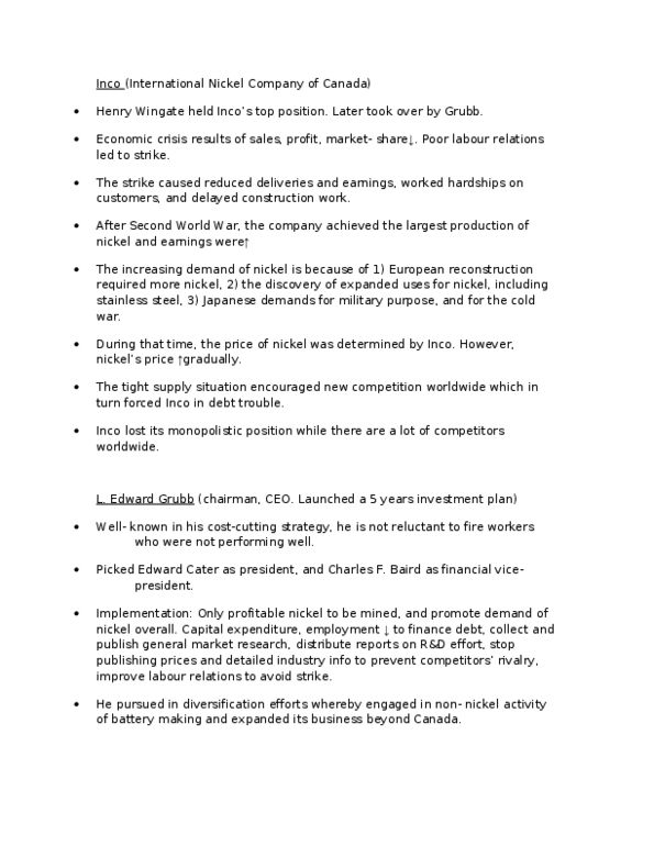 ADMS 1010 Lecture Notes - Winter 2013, - Capital Expenditure