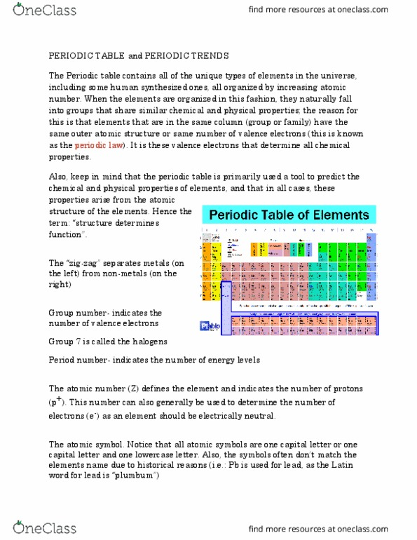 Chemistry 1301a B Lecture Notes Fall 2016 Lecture 10