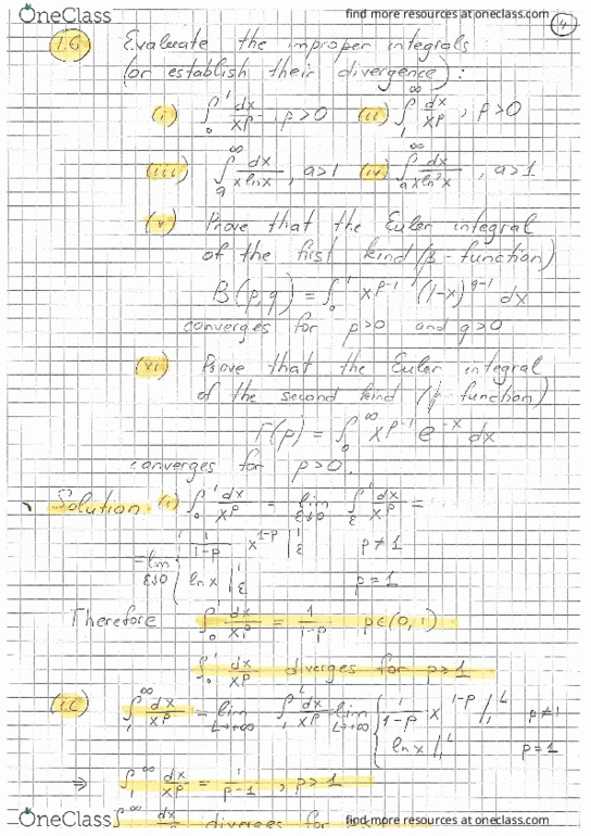 Class Notes for PHYSICS 3K03 at McMaster University - OneClass