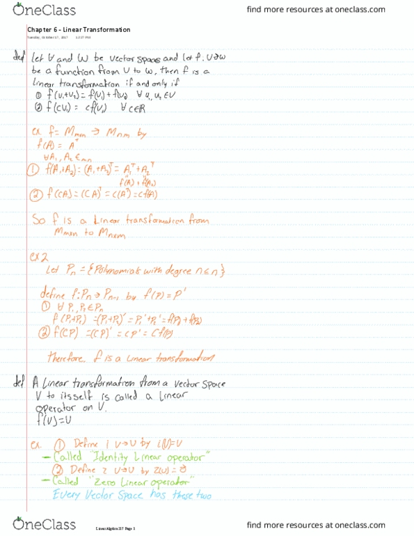 All Educational Materials for MATH 237 at University of