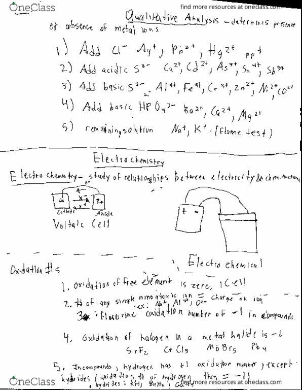 CHE-1102 Lecture Notes - Lecture 4: Hydroxylamine, Conjugate Acid