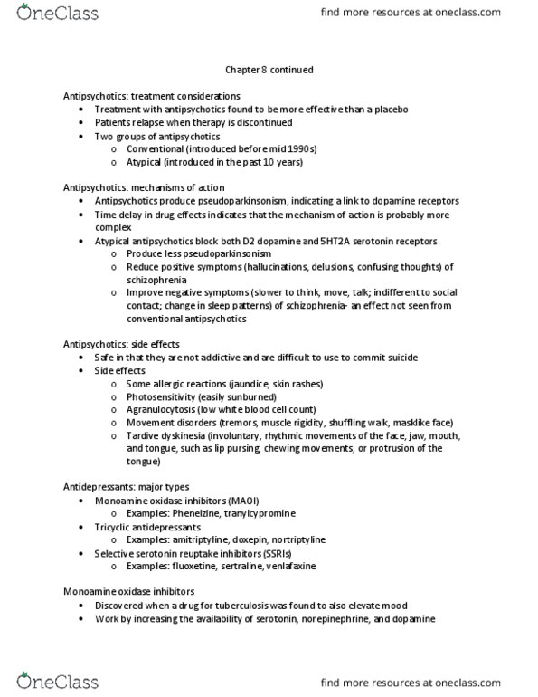 HHE 378 Lecture Notes - Fall 2017, Lecture 15 - Lamotrigine