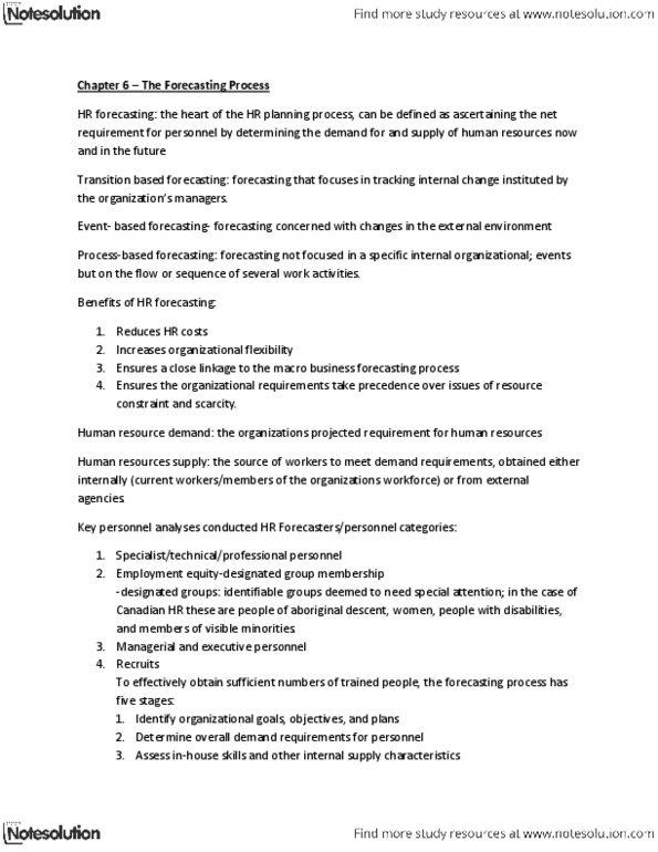ADMS 3430 Study Guide - Summer 2013, Final - Demand