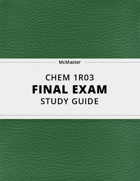 CHEM 1R03 Lecture 3: SPH3U,T4L7-1,TheSpeedofSound