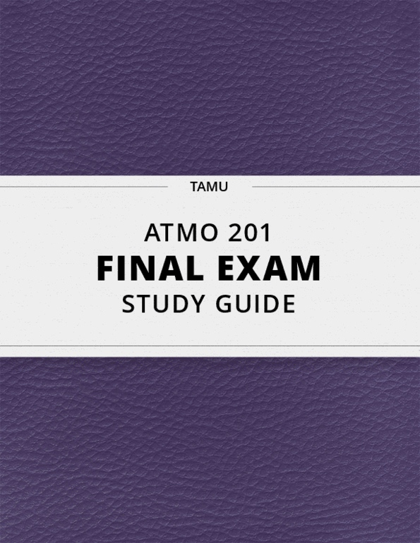 Study Guides For Timothy Logan Oneclass
