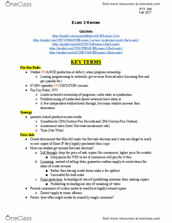 Rtf 308 Study Guide Fall 2017 Midterm Japanese Association Of