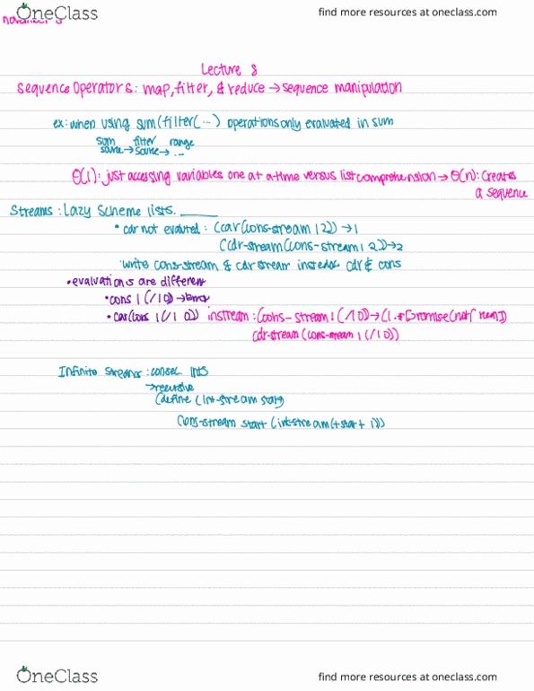 COMPSCI 61A Lecture 36: CS61A-Lecture 11-28-2016