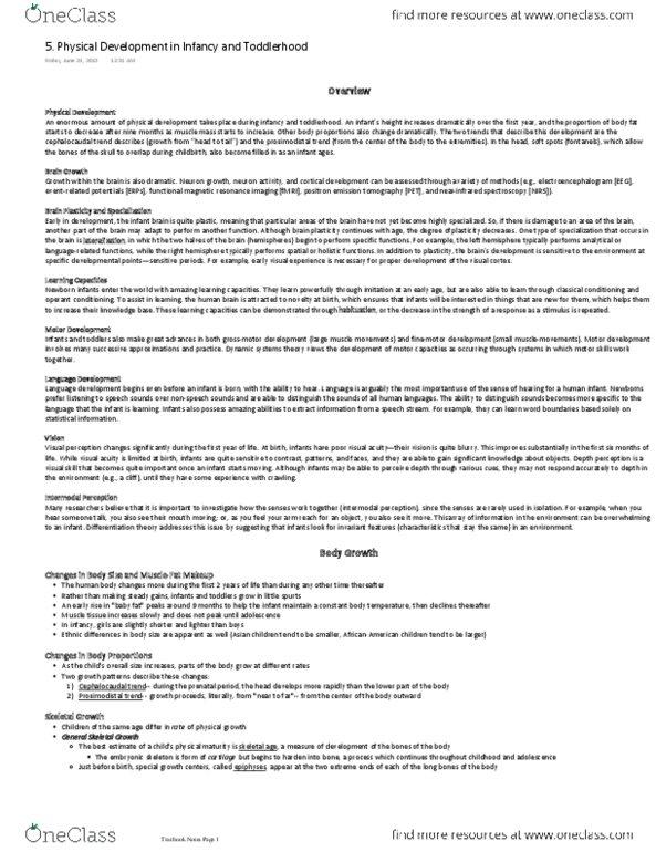 All Educational Materials for PSYC 2110 at York University (YORKU