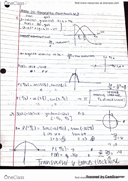 Textbook Notes for Mathematics at University of Maryland