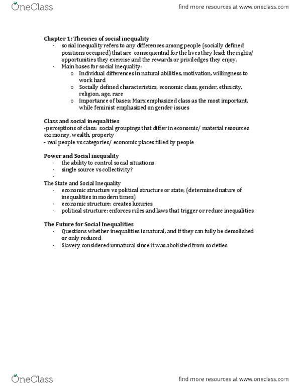SOC 203 Lecture 3: module 3 pdf