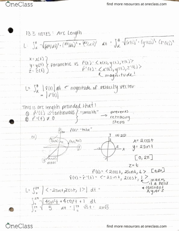 All Educational Materials For Math 143 At Cal Poly San Luis Obispo