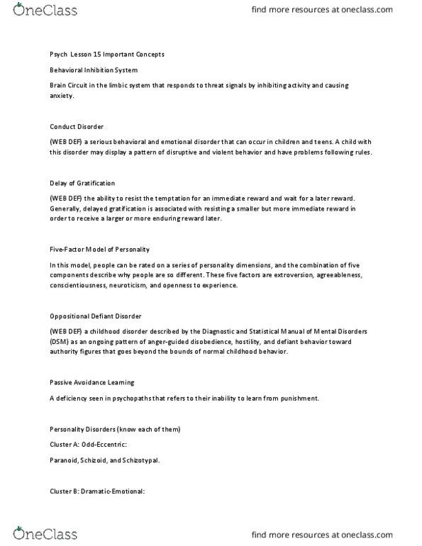 All Educational Materials for Melissa Scheldrup - OneClass
