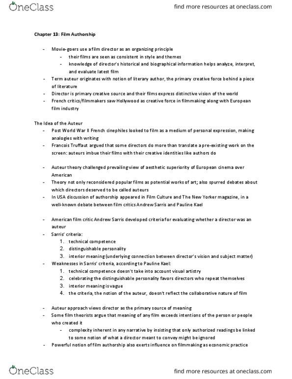 Ahss 1070 Study Guide Winter 2018 Comprehensive Midterm Notes Class Oneclass