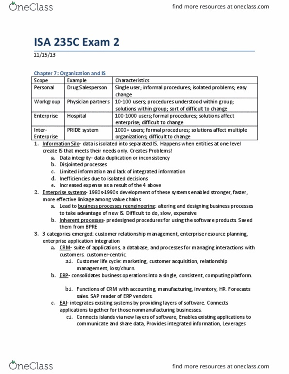 Review Guide-Final Exam ISA 235 docx