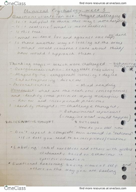 All Educational Materials for KHA 305 at University of Tasmania