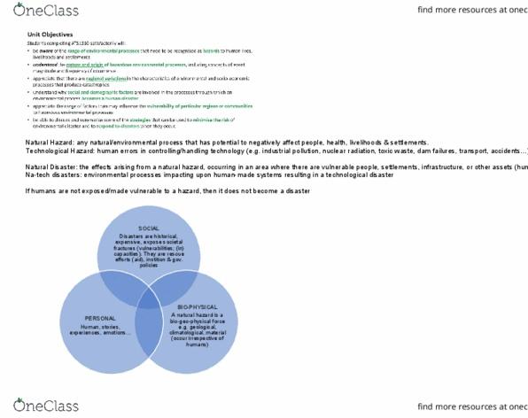 All Educational Materials for ATS1310 at Monash University