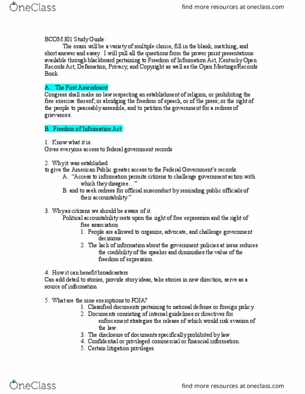 HON 251 Study Guide - Final Guide: The Federalist Papers, Hyperbolic  Geometry, Social Capital