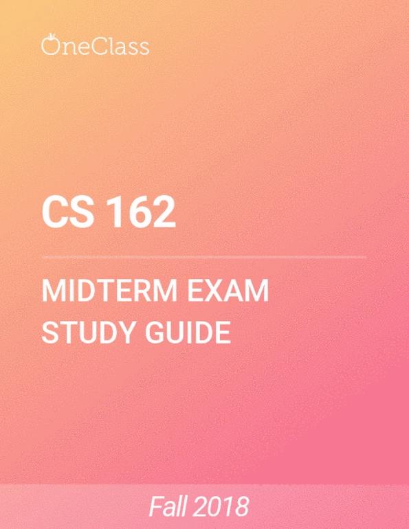 Cs 162 Osu