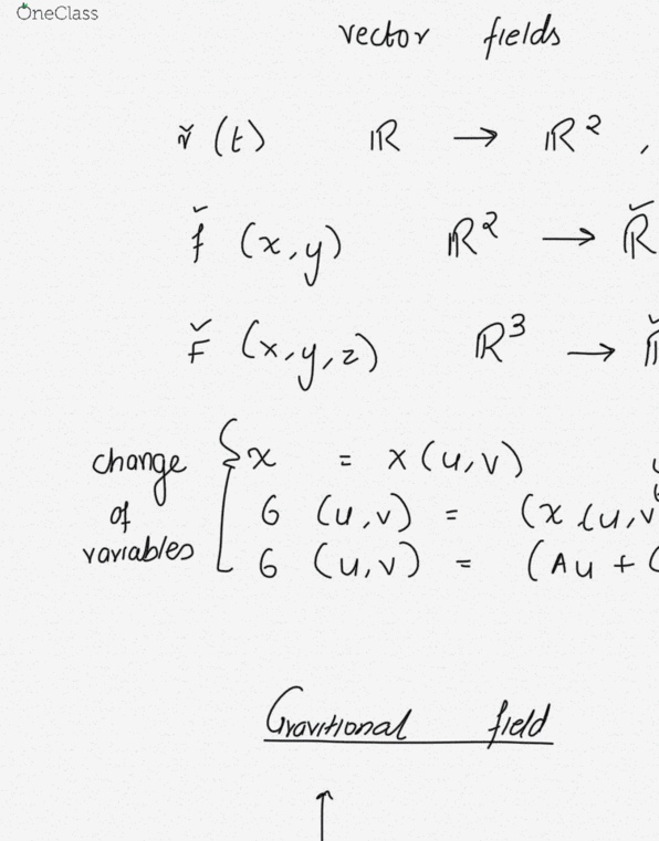 Class Notes for Mathematics at Rutgers University - OneClass